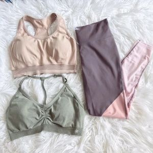 Leggings & 2 Bras Bundle